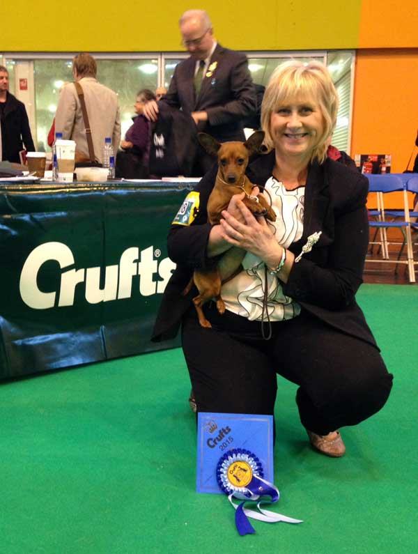 Perri at Crufts